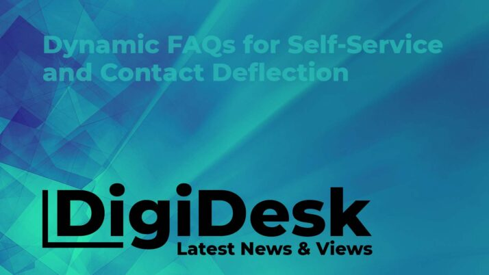 Dynamic FAQs for Self-Service and Contact Deflection