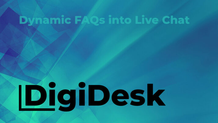 Dynamic FAQs into Live Chat